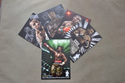 Andrew Tabiti Undefeated Cruiserweight  Mayweather Promoted Prospect SIGNED And INSCRIBED Promotional Photo