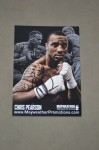 Chris Pearson Undefeated Light Middleweight Mayweather Promotions Prospect SIGNED Promotional Photo