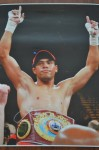 Juan Manuel Juanma Lopez Former WBO Super Bantam And Featherweight World Champion SIGNED And INSCRIBED Original Ringside Photo Shot