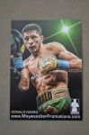 Ronald Gavril Mayweather Promotions Super Middleweight Prospect SIGNED Promotional Photo