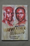Floyd Mayweather Jr vs Andre Berto WBC Welter And WBA Super Welterweight World Title Official Onsite Programme