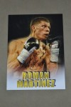 Roman Martinez 3x And Current WBO Super Featherweight World Champion SIGNED And INSCRIBED Promotional Photo