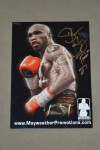 Ishe Smith Former IBF Light Middleweight World Champion SIGNED And INSCRIBED Promotional Photo