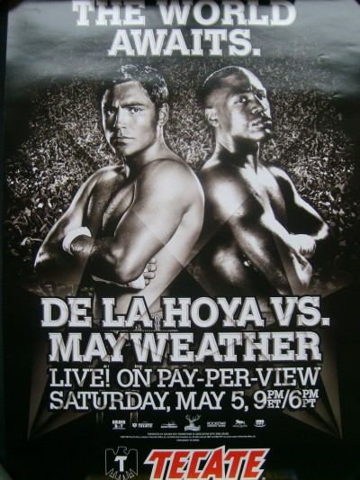 Floyd Mayweather v Manny Pacquiao Superfight Action #5 Poster
