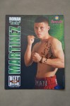 Roman Martinez 3x And Current WBO Super Featherweight World Champion SIGNED And INSCRIBED Large Promotional Photo