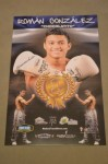 Roman CHOCOLATITO Gonzalez Undefeated 3 Weight Champion Now Crowned The Best Fighter In The World Pound For Pound SIGNED Promotional Poster