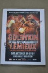 Golovkin vs Lemieux Also Gonzalez vs Viloria Press Pack SIGNED By Undercard Middleweight Prospect Tureano Johnson And Heavyweight Matias Ariel Vidondo