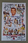 Champion Of Champions Trained By Legendary Trainer And Manager Emanuel Steward Promotional Kronk Photo Card SIGNED By Andy Lee And Sugar Hill