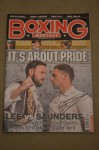 Andy Lee vs Billy Joe Saunders WBO Middleweight World Title DUAL SIGNED Boxing Monthly Magazine