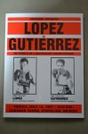 Lennox Lewis vs Mike Weaver Also Featuring Tony Lopez vs Lupe Gutierrez Official Onsite Programme
