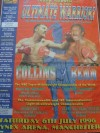 Steve Collins vs Nigel Benn I Official Onsite Poster
