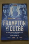 Carl Frampton vs Scott Quigg IBF And WBA Super Bantamweight World Title Official Onsite Programme