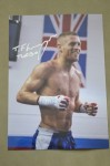 Terry Flanagan First Ever Englishman To Wn A World Lightweight Title SIGNED And INSCRIBED Training Shot Photo