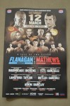 Terry Flanagan vs Derry Mathews WBO Lightweight World Title Official Onsite Programme