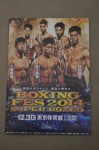 Japanese prodigy Naoya Inoue vs Omar Andres Narvaez WBO Super Flyweight World Title RARE Official Onsite Programme