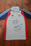 Team GB Boxing Polo Shirt Issued For The Glasgow 2014 Commonwealth Games WORN And SIGNED By Silver Medallist And Rio 2016 Olympian Qais Ashfaq