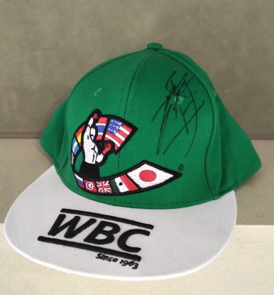 Naoya Inoue Former WBC Flyweight And Current WBO Super Flyweight World Champion SIGNED WBC Official Merchandise Cap