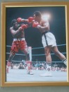 Ron Lyle Former Ali Opponent SIGNED Action Photo Against The Greatest