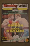 Tony Sibson vs Mark Kaylor British And Commonwealth Plus European Middleweight Title Official Onsite Programme SIGNED And INSCRIBED By Sibson