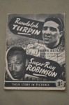 Randolph Turpin vs Sugar Ray Robinson Descriptive And Photo Blow By Blow Account Of Turpin Becoming World Middleweight Champion RARE 1951 UK Booklet