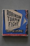 Sugar Ray Robinson vs Randolph Turpin II Vintage Projector 8mm Film Reel Complete With Original Box