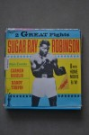 Vintage Sugar Ray Robinson 8mm Home Movie Entertainment In 2 Epic Fights Against Carmen Basilio And Randolph Turpin