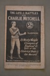 The Life And Battles Of Charlie Mitchell Ex Heavyweight Champion Of England Also Fought The Great John L Sullivan On Two Occasions Illustrated Booklet
