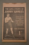 Life And Fights Of Johnny Summers British Feather And British And Empire Welterweight Champ Whose Career Spanned From 1900 to 1920 Illustrated Booklet