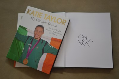 Katie Taylor Former Irish Amateur Sensation SIGNED My Olympic Dream The Gold Medal Winners Astonishing Own Story