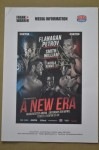 Terry Flanagan vs Petr Petrov WBO World Lightweight Title DUAL SIGNED Media Information Booklet