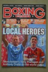 MANCHESTER Lightweights And Football Team Rivals Former WBA Anthony Crolla And Current WBO World Champion Terry Flanagan DUAL SIGNED Magazine