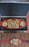 Lloyd Honeyghans IBF World Welterweight Belt Which He Ripped Mauled And Muscled From The Invincible Donald Curry In One Of Boxings Greatest Upsets