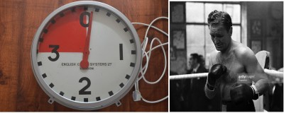 ORIGINAL Clock Timer Adorned The Famed Walls Of Jack Solomons Great Windmill St Gym Where World Champions And Prospects Trained Between 1940 to 1960