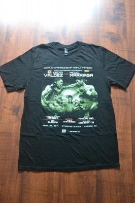 Oscar Valdez vs Miguel Marriaga Also Featuring Pro Debut Of Amateur Standout And Potential Superstar Shakur Stevenson Official Merchandise Tee Shirt