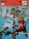 Leon Spinks Former World Heavyweight Champion SIGNED Photo Card