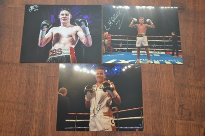 Cyclone Promotions Undefeated Prospects Chris Billam Smith Plus Lee McGregor And Chantelle Cameron SIGNED Photos X3