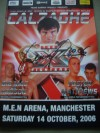 Lennox Lewis SIGNED and DATED Joe Calzaghe vs Jeff Lacy Official Onsite Programme