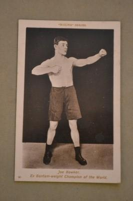 SALFORDS Joe Bowker Former Bantamweight Champion Of The World 1904 to 1905 ORIGINAL Vintage Postcard