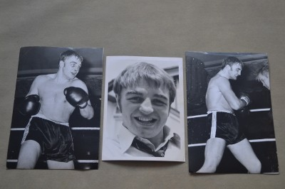 Danny McAlinden Former British And Commonwealth Heavyweight Champion Original Press Photos x3