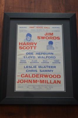 Harry Scott vs Jimmy Swords With Supporting Bouts Involving Other Manchester And Liverpool Fighters Official Onsite Poster