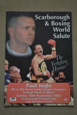 Paul Ingle Former IBF Featherweight World Champion Who Sadly Suffered Career Ending And Life Threatening Injuries Tribute And Benefit Programme
