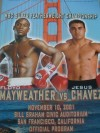 Floyd Mayweather Jr vs Jesus Chavez Official Onsite Programme