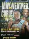Floyd Mayweather Jr vs DeMarcus Corley Official Onsite Programme