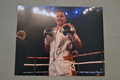 Chantelle WHAM BAM CHAN Cameron Undefeated Professional Lightweight And Former Team GB Member SIGNED Photo