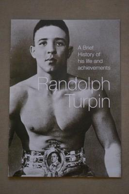 Randolph Turpin 1951 Middleweight World Champion Booklet Titled A Brief History Of His Life And Achievements