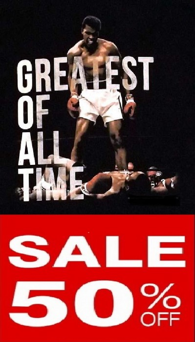 All Ali Items In The MUHAMMAD ALI Category HALF PRICE