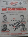 Roger Mayweather SIGNED and INSCRIBED Official Onsite Programme vs Efrain Nieves