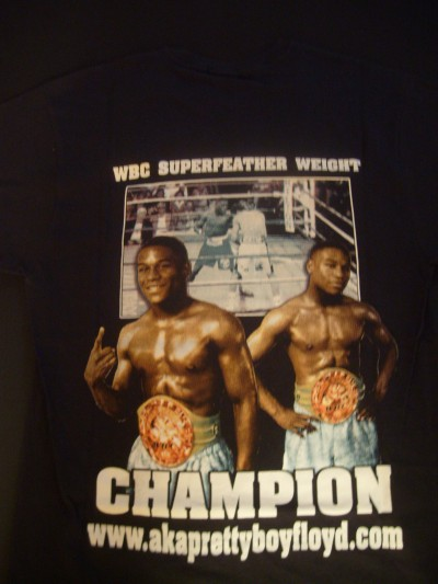 Floyd Mayweather Jr Early Career Official Merchandise Tee Shirt
