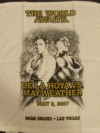 Oscar De La Hoya vs Floyd Mayweather Jr Official Merchandise Commemorative THE WORLD AWAITS Guest Towel
