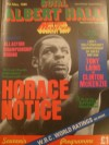 Horace Notice vs Mike Jameson Official Onsite Programme also Featuring Michael Watson